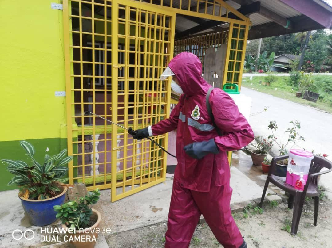 Operasi sanitasi oleh Jabatan Amal Malaysia