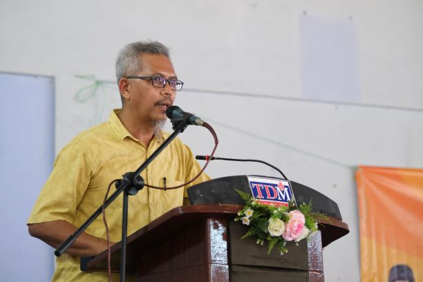 Pengerusi Ahli Lembaga Pengarah Koperasi Ladang Kelapa Sawit Terengganu Berhad Abdullah Zawawi Jusoh