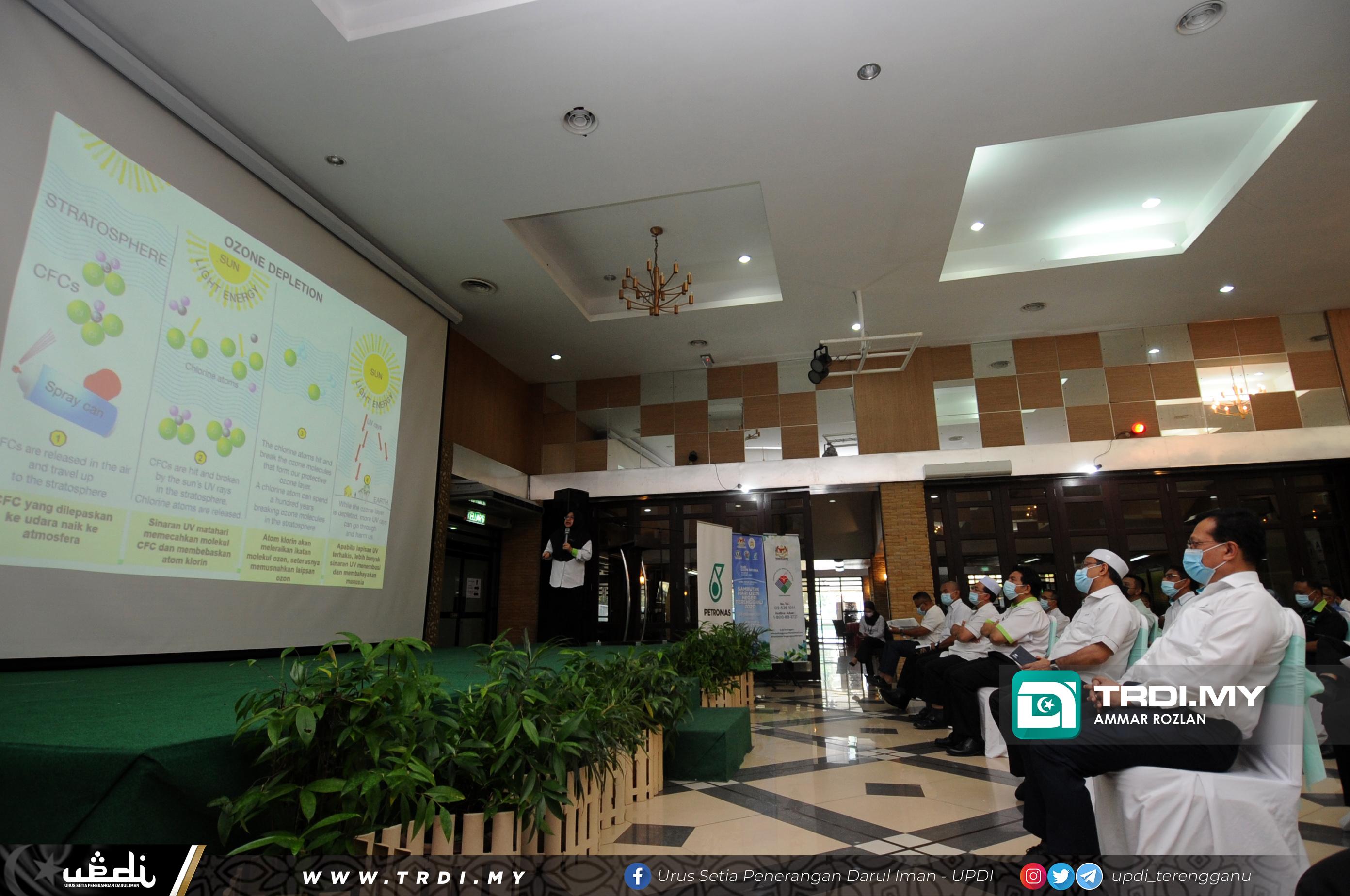 Sambutan Hari Ozon Negeri Terengganu 2020 anjuran PETRONAS dengan kerjasama Jabatan Alam Sekita (JAS) Terengganu